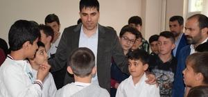 Kaymakam Erdem Kur'an kursu öğrencilerini ziyaret etti