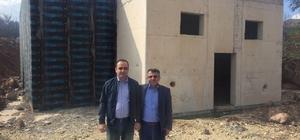 Tokat'ta yeni su depolarının enerji hattı sorunu çözüldü