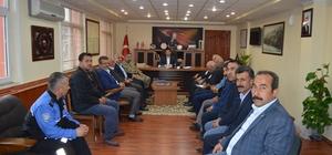 Besni'de güvenlik ve halk toplantısı yapıldı
