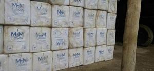 Hakkari'de 17 bin 500 paket sigara ele geçirildi