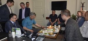 Başkan Muzaffer Yiğit'e sürpriz doğum günü
