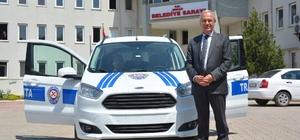 Dinar Belediyesi zabıta trafik aracı aldı
