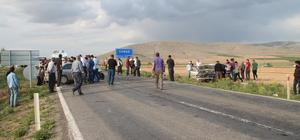 Konya'da iki otomobil çarpıştı: 10 yaralı