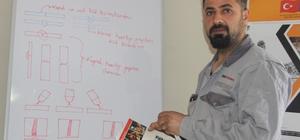 Hakkari'de yeni kaynak ustaları yetiştiriliyor