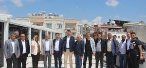 AK Parti İl Başkanı Toprak basın mensuplarıyla bir araya geldi