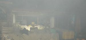 Karacasu'da belediye iş hanında yangın