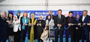 Tuzla Belediyesi Gönül Elleri Çarşısı, 'Üretebilen Çocukların Köyü'ne ilk tohumu attı