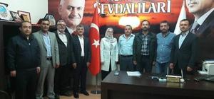 AK Parti ilçe başkanları toplantısı Acıgöl'de yapıldı