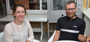 İrlandalı çift bisikletle Çin yolunda