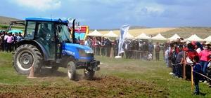 """Hıdırellez'i """"traktör yarışları"""" ile kutladılar"""