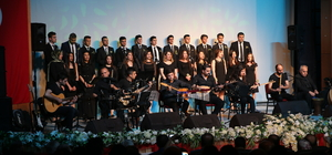 Hatay'da Zeytin Dalı Korosu konseri