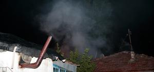 Ankara'da yangın