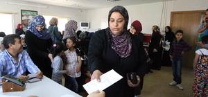 Suriyeli dul ve yetimlere destek