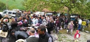Darıalan köyünde hayır yemeği düzenlendi