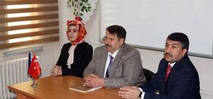 Ağrı Milli Eğitim Müdürü Turan Eleşkirt ilçesini ziyaret etti