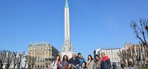 Bafra Atatürk Anadolu Lisesi öğrencileri Letonya'yı gezdi