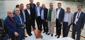 Belediye başkanları Şanlıurfa programını geziyle tamamladı