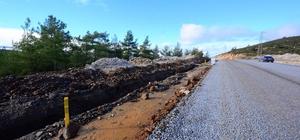 Büyükşehir'den Kavaklıdere'ye modern kanalizasyon hattı