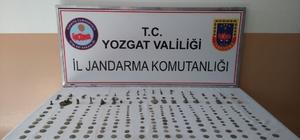 Yozgat'ta tarihi eser operasyonunda 257 eser ele geçirildi