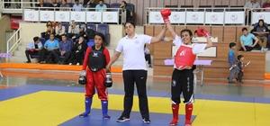 Kahramanmaraş'ta Ömer Halisdemir Wuhsu Turnuvası