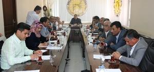 Akçakale Belediyesi Mayıs ayı meclis toplantısı yapıldı
