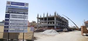 Döşemealtı Hastanesinde kaba inşaatın yüzde 90'ı tamamlandı