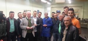 Hakkari'deki eğitimcilerin Almanya ziyareti