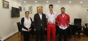 Atletizm milli takımına seçildi, Torbalı'nın gururu oldu