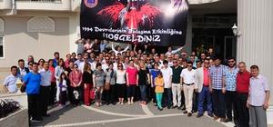 Jandarmanın 1994 mezunları Manavgat'ta buluştu