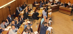 Büyükşehir meclis toplantısı