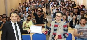 Gediz MYO'da 'sürdürülebilir iş sağlığı ve güvenliği' konulu konferans