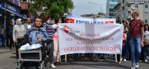 Diyarbakır'da Engelliler Haftası yürüyüşü