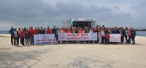 Sinop'ta sağlık için hareket