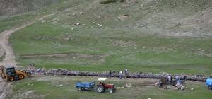 Adilcevaz'da sulama kanalı yenileme çalışması