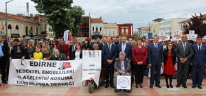 Edirne'de Engelliler Haftası etkinlikler ile kutlandı