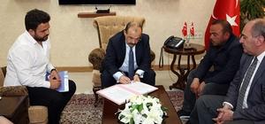 Vali İsmail Ustaoğlu, 'Tatbikat Camisi' protokolünü imzaladı