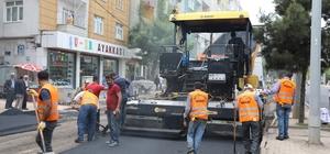 Diyarbakır'da caddeler asfaltlanıyor