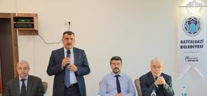 Belediye Başkanı Gürkan akademisyenlerle bir araya geldi