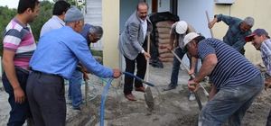Başkan Ozan'dan minare yapımına tam destek