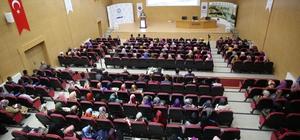 Bayburt Üniversitesinde 'Kudüs Bizim Neyimiz Olur?' konferansı düzenlendi