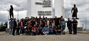 İstanbul Üniversitesi Orman Fakültesi öğrencilerinden Eskişehir'de teknik gezi
