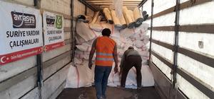 Suriye'ye insani yardımlar