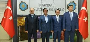 Sur, Yenişehir ve Kayapınar'dan Başkan Atilla'ya ziyaret