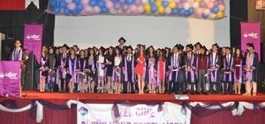 Çine'de Uğur Öğrencileri Bayrağı 11. sınıflara teslim etti