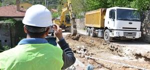 Akseki'de 2 mahalleye kanalizasyon geliyor