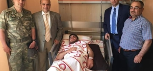 El Bab gazisi ameliyat oldu