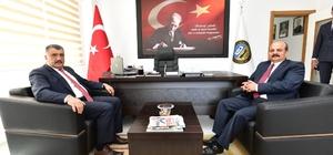 Gürkan, ESKKK Bölge Birliğini ziyaret etti