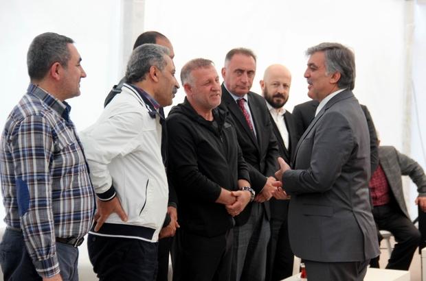 Kayserispor'dan Gül'e taziye ziyareti