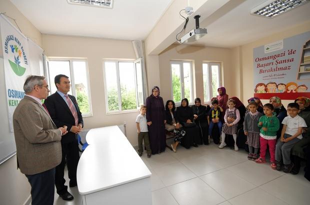 Osmangazi'den ailelere çocuk gelişimi semineri