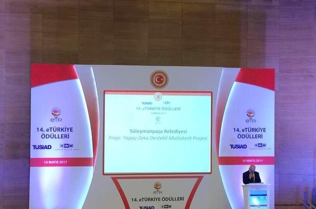 14. eTR ödüllerinde Mutlukent Projesi ile Süleymanpaşa Belediyesi zirvede